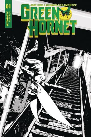 Green Hornet #2 (10 Copy McKone B&W Cover)