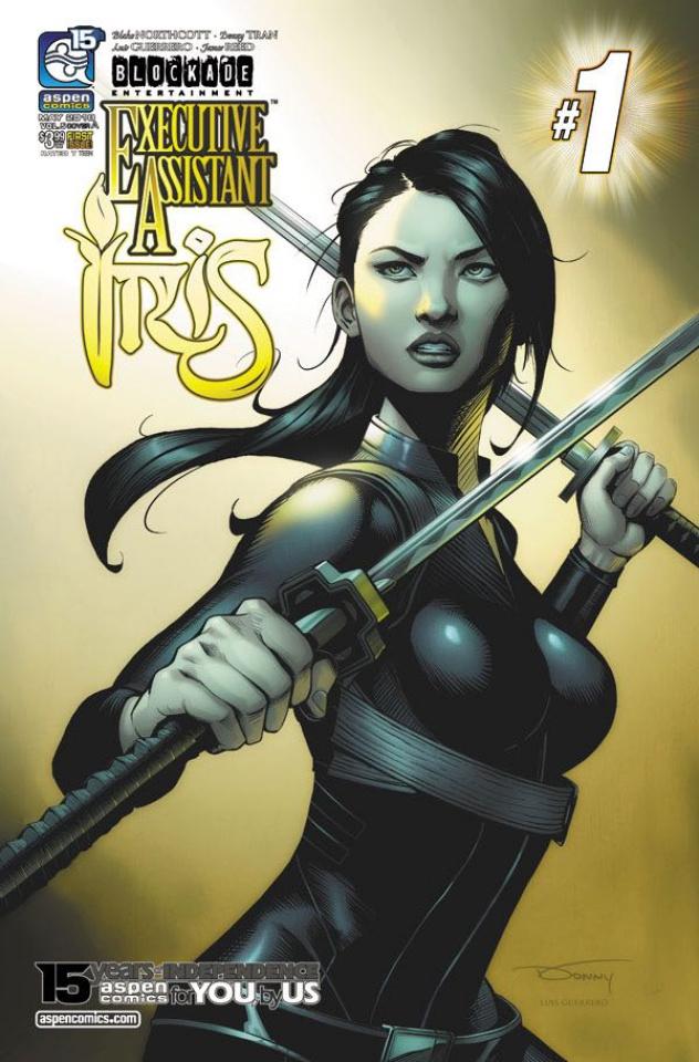 Executive Assistant Iris #1 (Tran  Cover)