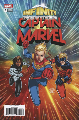Infinity Countdown: Captain Marvel #1 (Lim Cover)