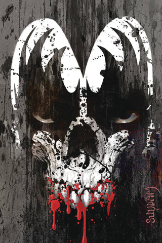 KISS: Zombies #5 (Suydam Virgin Cover)
