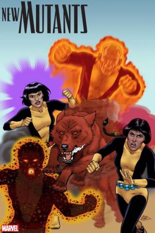 New Mutants: War Children #1 (McLeod Cover)