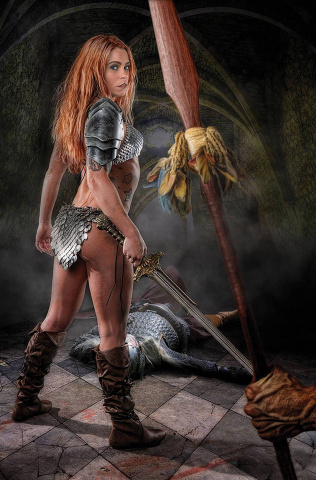 Red Sonja: The Price of Blood #3 (20 Copy Cosplay Virgin Cover)