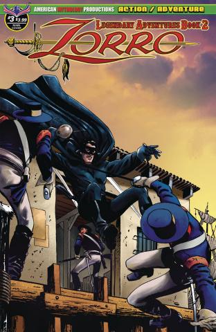 Zorro: Legendary Adventures, Book 2 #3