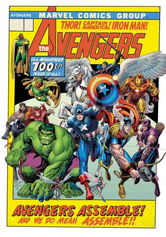 Avengers #10 (Arthur Adams Cover)