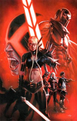 Uncanny X-Men #1 (Dell'Otto Cover)