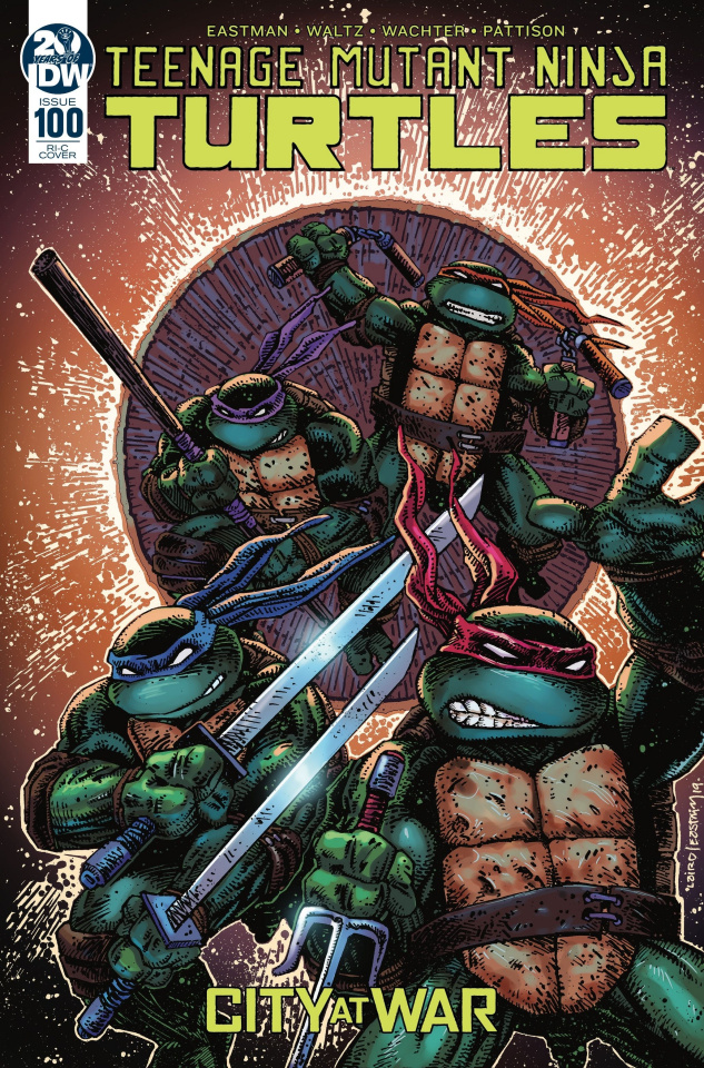 Teenage Mutant Ninja Turtles #100 (50 Copy Laird & Eastman Cover)