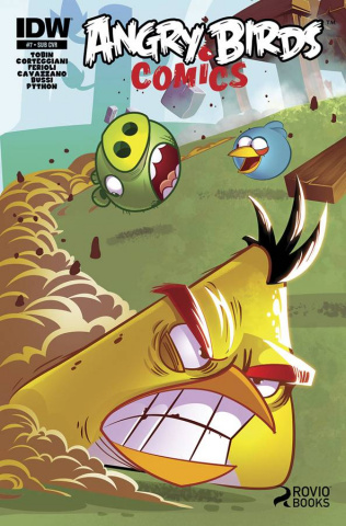Angry Birds #7 (Subscription Cover)