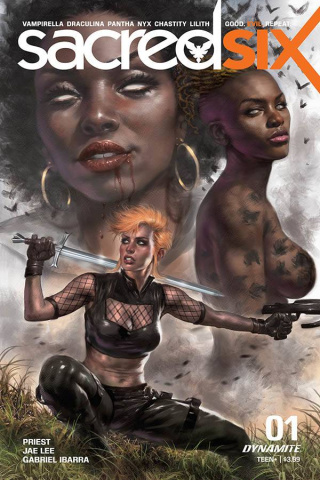 Sacred Six #1 (Parrillo Cover)