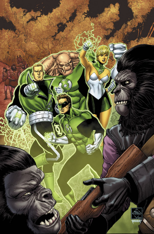 The Planet of the Apes / The Green Lantern #2