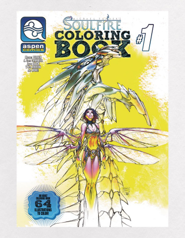 Soulfire Coloring Book