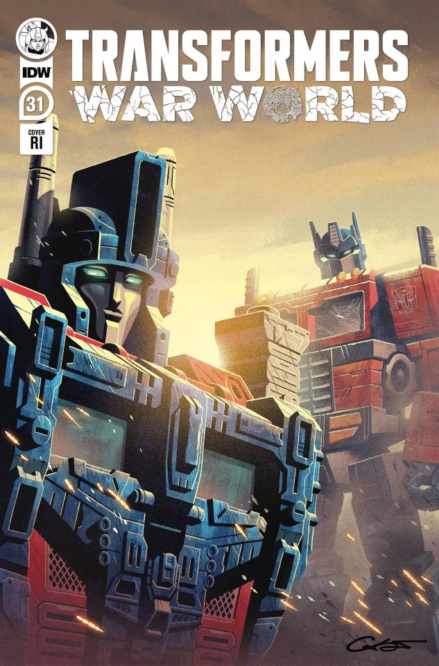 The Transformers #31 (10 Copy George Caltsoudas Cover)
