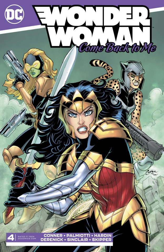 Wonder Woman: Come Back to Me #4