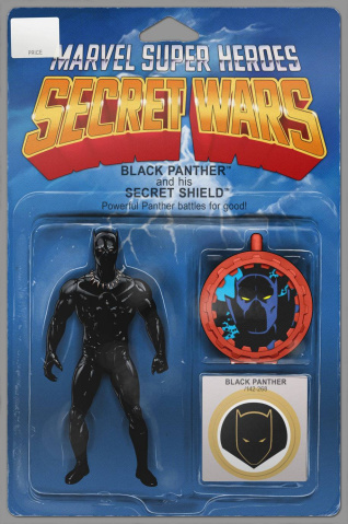 Secret Wars: Battleworld #1 (Action Figure Cover)