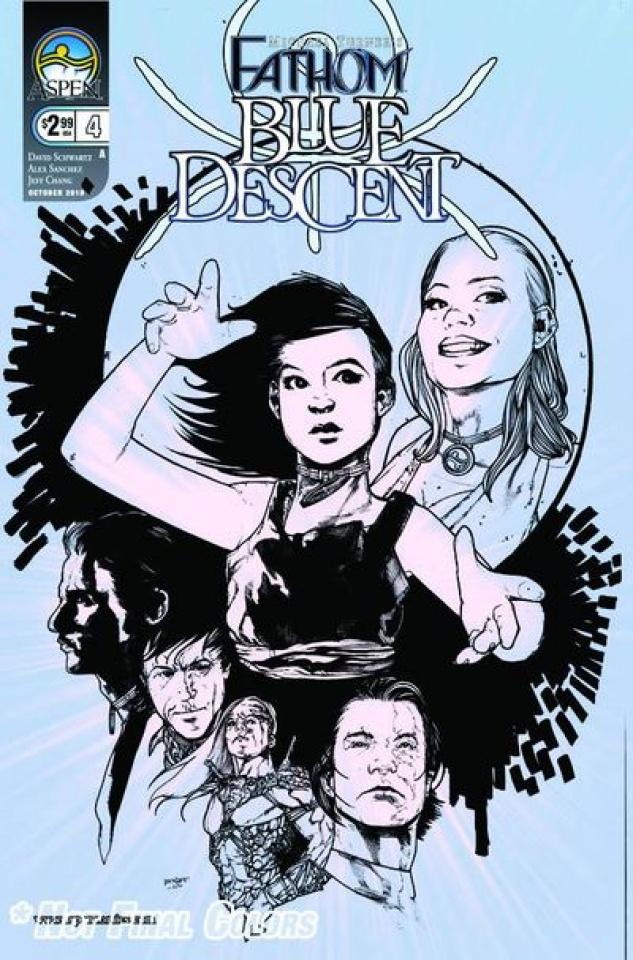 Fathom: Blue Descent #4 (Sanchez Cover)