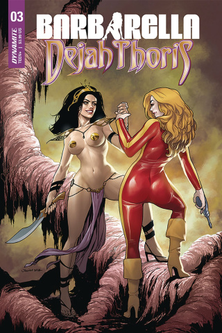 Barbarella / Dejah Thoris #3 (Ohta Cover)