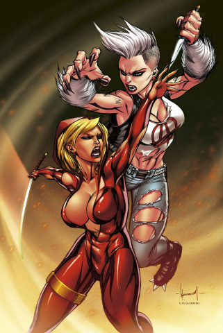 Grimm Fairy Tales: Code Red #4 (Garza Cover)