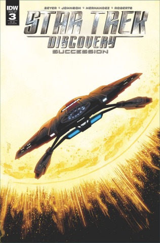 Star Trek: Discovery - Succession #3 (25 Copy Cover)