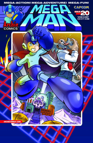 Mega Man #20 (Jampole Cover)