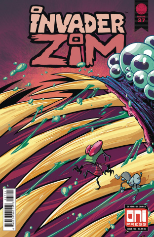 Invader Zim #37 (Stresing Cover)