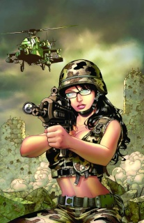 Grimm Fairy Tales: Wounded Warriors Special (Chen Cover)