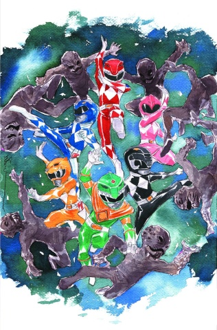 Mighty Morphin' Power Rangers #1 (100 Copy Nguyen Cover)