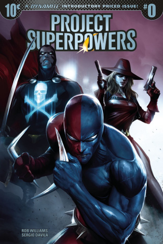 Project Superpowers #0 (Mattina Cover)