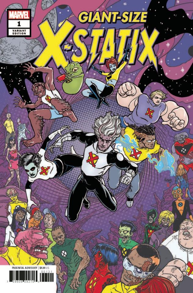 Giant Sized X-Statix #1 (Kuder Cover)