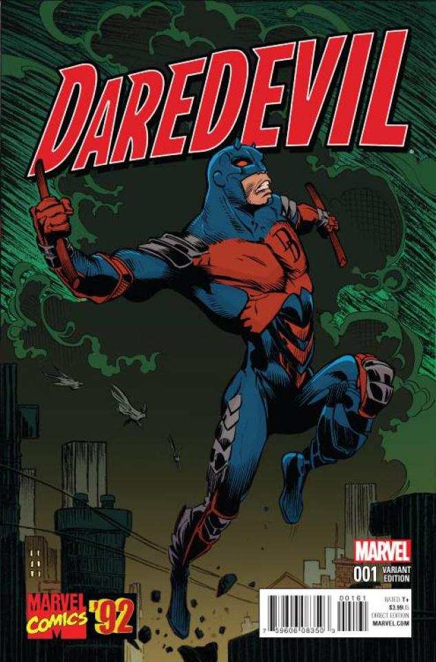 Daredevil #1 (Marvel '92 Cover)