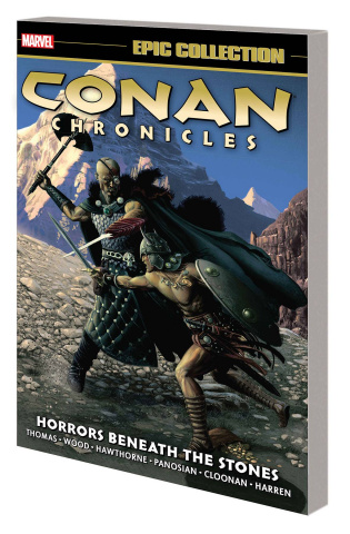 Conan Chronicles Horrors Beneath the Stones (Epic Collection)