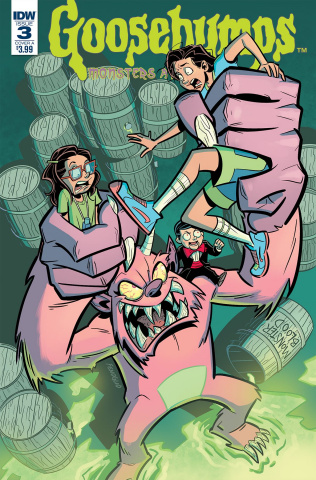 Goosebumps: Monsters At Midnight #3 (Fenoglio Cover)