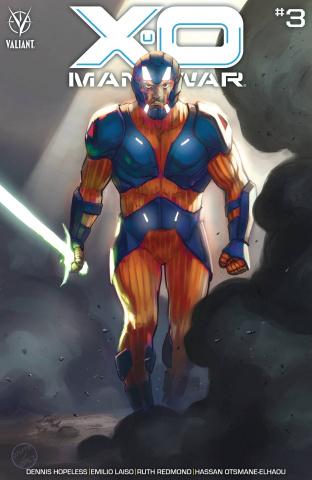 X-O Manowar #3 (Lopez Cover)