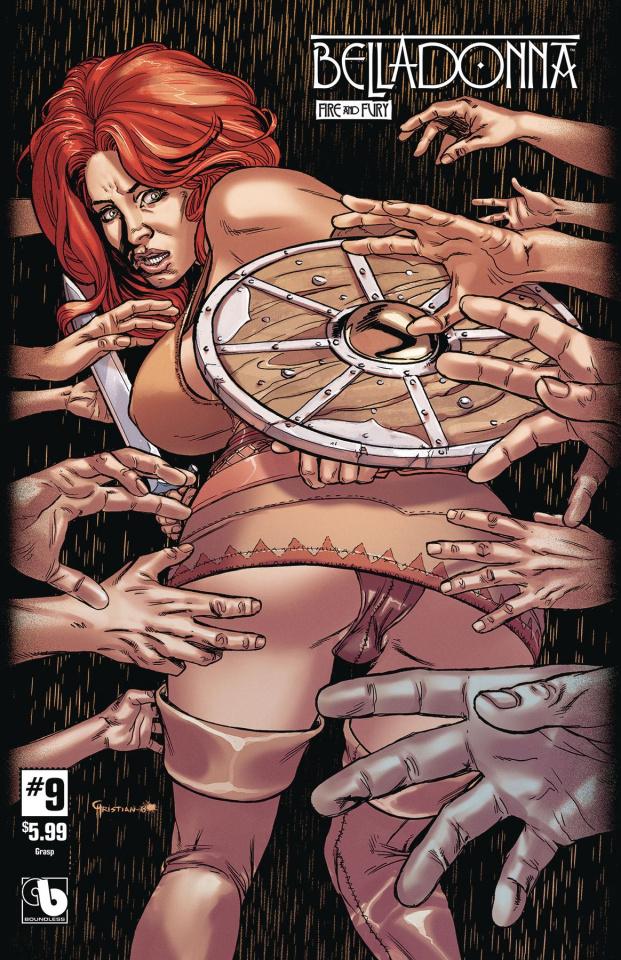 Belladonna: Fire and Fury #9 (Grasp Cover)