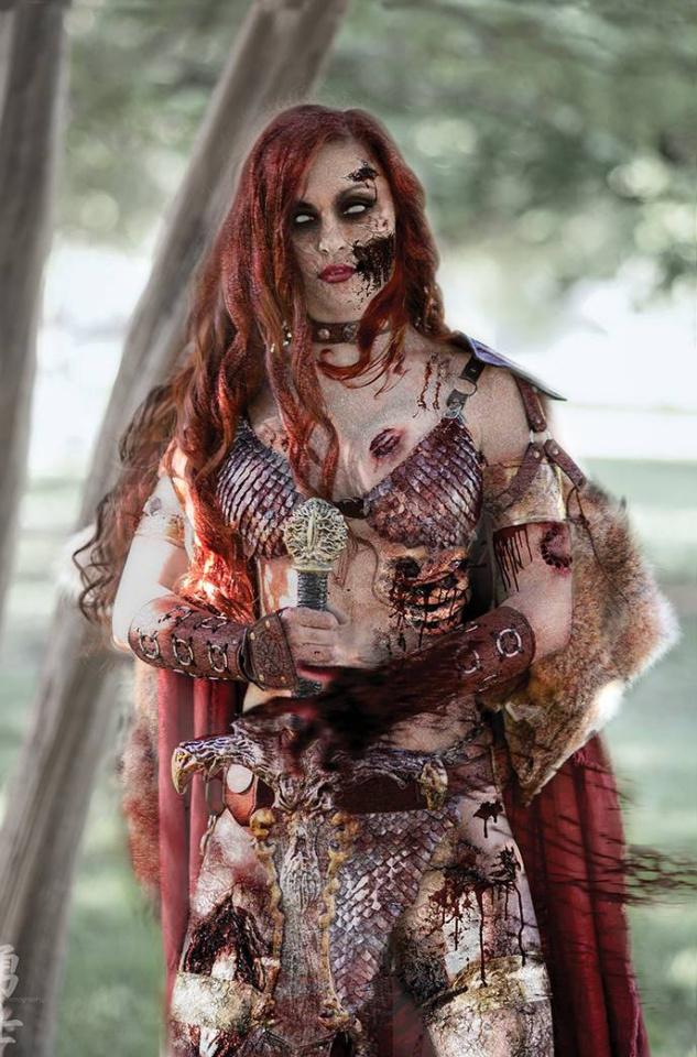 DIE!namite #4 (11 Copy Polson Zombie Cosplay Virgin Cover)
