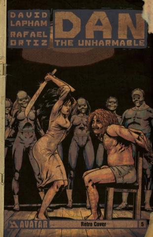 Dan the Unharmable #5 (Retro Cover)