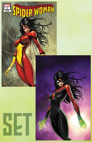 Spider-Woman #1 (A & B Covers)