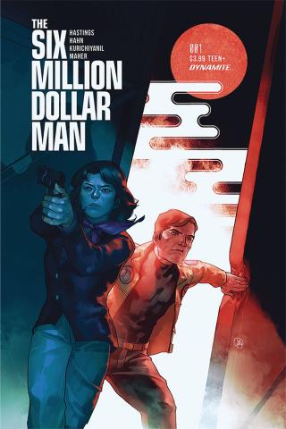 The Six Million Dollar Man #1 (Putri Cover)