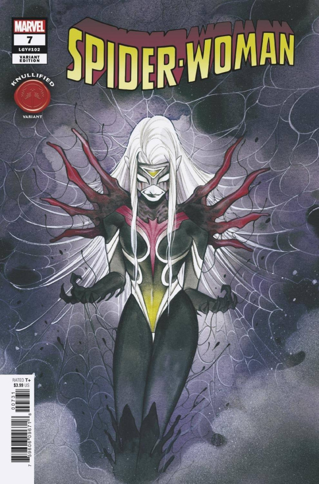 Spider-Woman #7 (Momoko Knullified Cover)