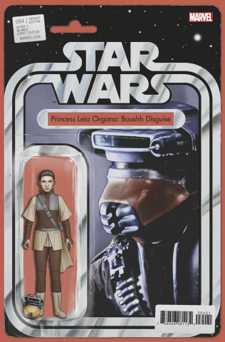 Star Wars #64 (Christopher Action Figure Cover)