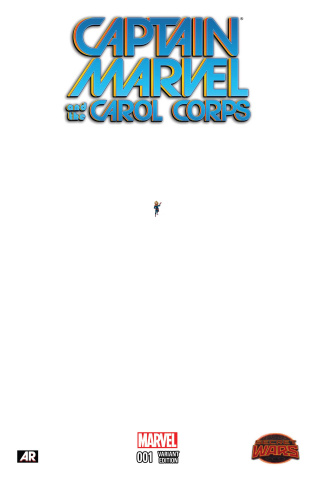 Captain Marvel and the Carol Corps #1 (Ant-Sized Cover)