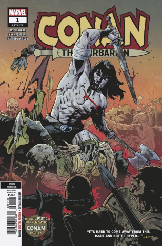 Conan the Barbarian #1 (Asrar 3rd Printing)