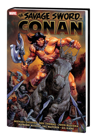 The Savage Sword of Conan: The Original Marvel Years Vol. 6 (Omnibus)