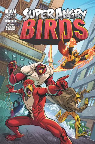 Angry Birds: Super Angry Birds #1 (Subscription Cover)