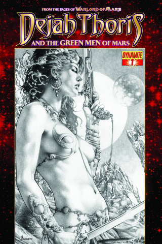 Dejah Thoris & The Green Men of Mars #1 (Subscription Cover)