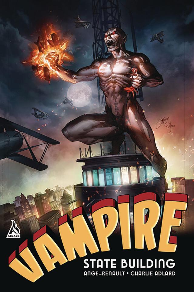 Vampire State Building #2 (Bernard Cover)