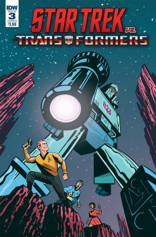 Star Trek vs. The Transformers #3 (Fullerton Cover)