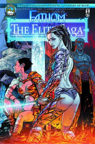 Fathom: The Elite Saga #2 (Caldwell Cover)
