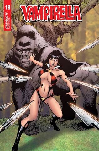 Vampirella #18 (Castro Bonus Cover)
