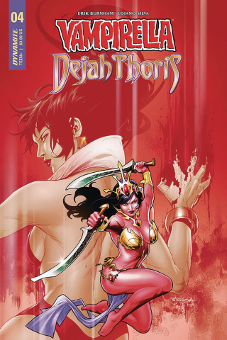 Vampirella / Dejah Thoris #4 (Segovia Cover)