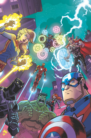 Marvel Action: Avengers #6 (10 Copy Fleecs Cover)