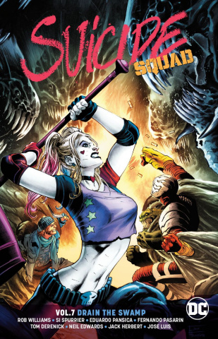 Suicide Squad Vol. 7: Drain the Swamp (Rebirth)